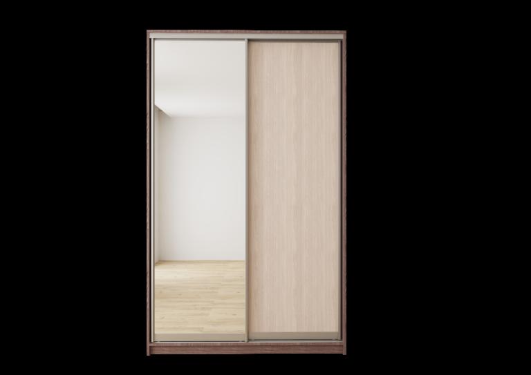Шкаф с одним зеркалом